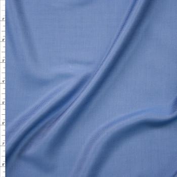 Light Blue Lightweight Tencel Chambray Fabric By The Yard