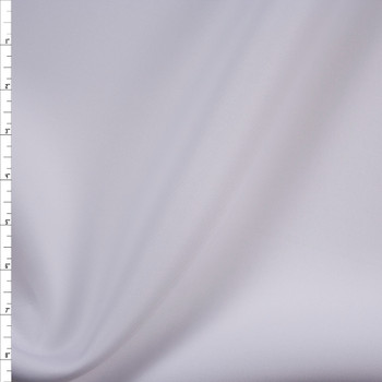 White Double Scuba Knit Fabric By The Yard