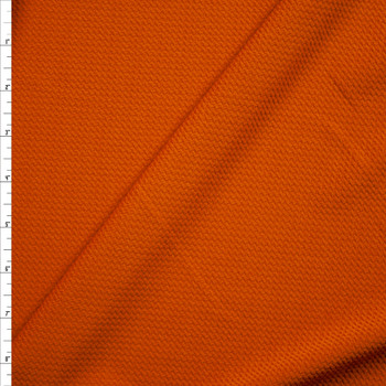 Solid Caramel Bullet Textured Liverpool Knit Fabric By The Yard