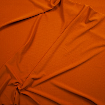 Solid Caramel Bullet Textured Liverpool Knit Fabric By The Yard - Wide shot