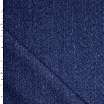 Blue Designer 12oz Denim Fabric By The Yard