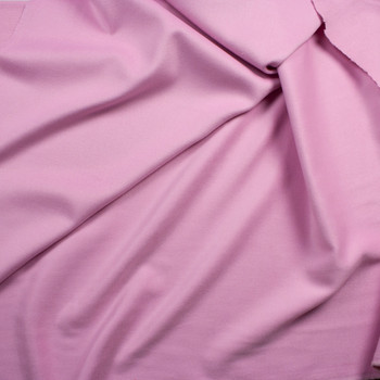 Pink Wool Melton Coating Fabric By The Yard - Wide shot