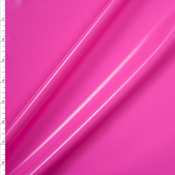 Bubblegum Pink Lycra Lamé Fabric By The Yard