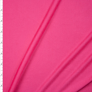 Bubblegum Pink Lightweight Rayon Jersey Knit Fabric By The Yard