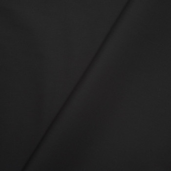 Black Cotton/Poly Broadcloth Fabric