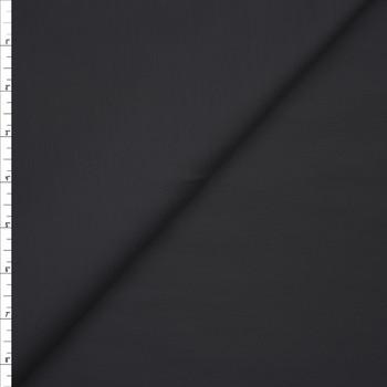 Dark Grey Stretch Cotton Broadcloth