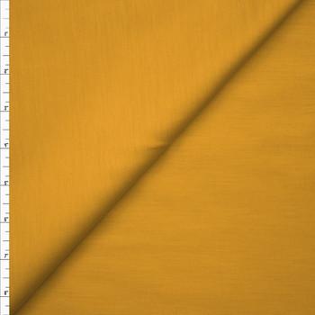Mustard Stretch Cotton Broadcloth