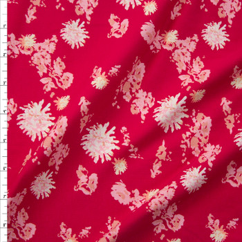 Petal Strings Passion Cotton/Spandex Jersey Knit from Art Gallery Fabrics Fabric By The Yard