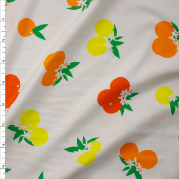 Citrus Sunrise Cotton/Spandex Jersey Knit from Art Gallery Fabrics Fabric By The Yard