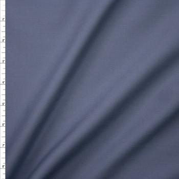 Medium Grey Stretch Poly/Cotton Twill Fabric By The Yard