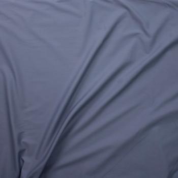 Medium Grey Stretch Poly/Cotton Twill Fabric By The Yard - Wide shot