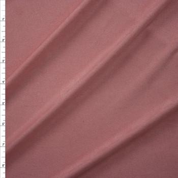 Blush Pink Lightweight Designer Stretch Suede Fabric By The Yard