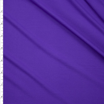 Grape Double Brushed Poly Fabric By The Yard