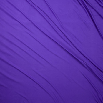 Grape Double Brushed Poly Fabric By The Yard - Wide shot