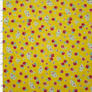 Darlene's Favorites Screamin Yellow by Robert Kaufman Quilter's Cotton Fabric By The Yard