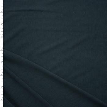 Solid Black Stretch Bamboo/Rayon Panda Knit by Robert Kaufman Fabric By The Yard