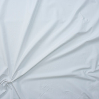 White Heavyweight Triblend Knit Fabric By The Yard - Wide shot