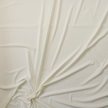 Ivory 5.8oz Nylon/Lycra Fabric By The Yard - Wide shot