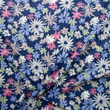 Ink Outburst Atelier Cotton Voile by Art Gallery Fabrics Fabric By The Yard - Wide shot