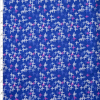 Across Sparks Blue Quilter's Cotton from Art Gallery Fabrics Fabric By The Yard