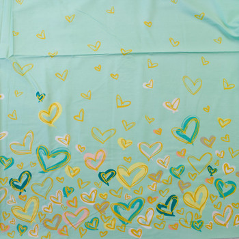 Where the Heart Is Reverie Border Print Quilter's Cotton from Art Gallery Fabrics Fabric By The Yard - Wide shot