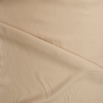 Tan Midweight Irish Linen Fabric By The Yard - Wide shot