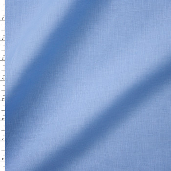 Sky Blue Midweight Irish Linen Fabric By The Yard