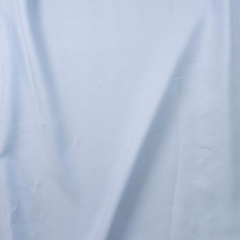 Light Blue Midweight Irish Linen Fabric By The Yard - Wide shot