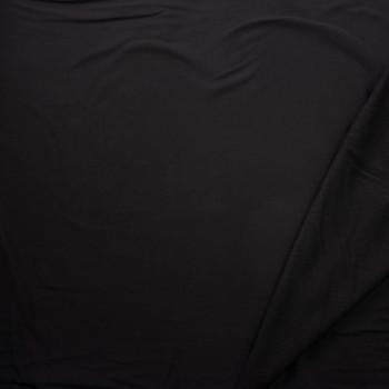 Black Cotton Sweatshirt Fleece Fabric By The Yard - Wide shot