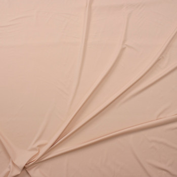 Light Tan Premium Nylon/Spandex Fabric By The Yard - Wide shot