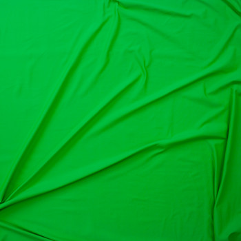 Neon Green Midweight Nylon Spandex Fabric By The Yard - Wide shot