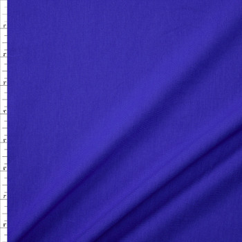 Royal Stretch Cotton/Spandex Jersey Knit Fabric By The Yard