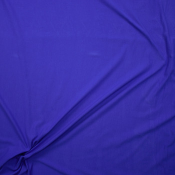 Royal Stretch Cotton/Spandex Jersey Knit Fabric By The Yard - Wide shot