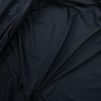 Black Soft Lightweight Cotton Poplin Fabric By The Yard - Wide shot