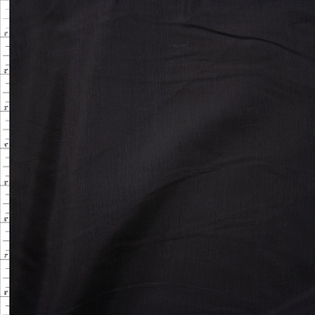 Black Lightweight Rayon Shirting Fabric By The Yard