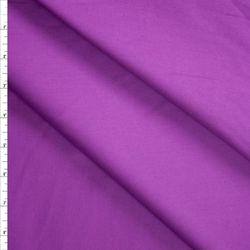 Purple Stretch Cotton Broadcloth Fabric By The Yard