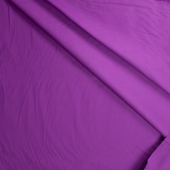 Purple Stretch Cotton Broadcloth Fabric By The Yard - Wide shot