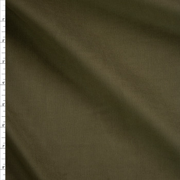 Olive Baby Wale Corduroy Fabric By The Yard