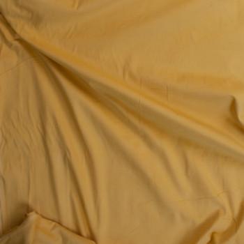 Light Yellow Baby Wale Corduroy Fabric By The Yard - Wide shot
