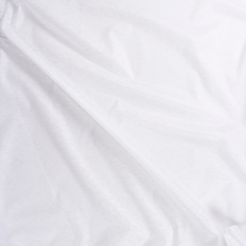 White Lightweight Nonwoven Fusible Interfacing Fabric By The Yard - Wide shot