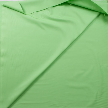 Mint Designer Cotton Twill Fabric By The Yard - Wide shot