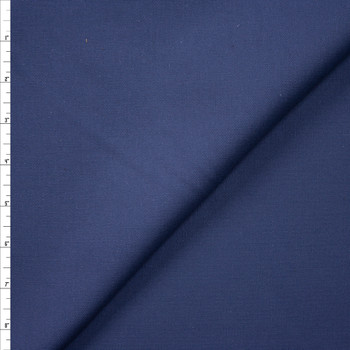 Navy Blue Midweight Cotton Duck Fabric By The Yard
