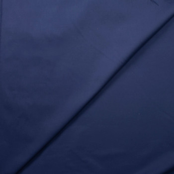 Navy Blue Midweight Cotton Duck Fabric By The Yard - Wide shot