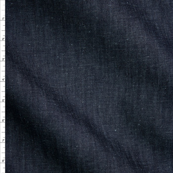 Indigo #4 Designer Midweight Denim from 'True Religion' Fabric By The Yard