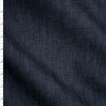 Indigo #4 Designer Midweight Denim from 'True Religion' Fabric By The Yard