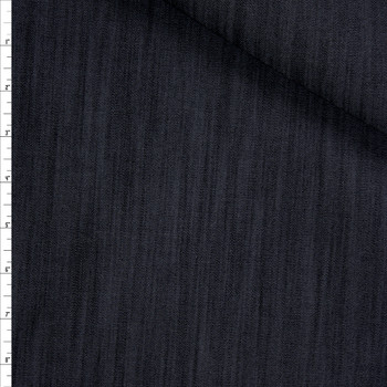 Indigo #8 Designer Stretch Midweight Denim from 'True Religion' Fabric By The Yard