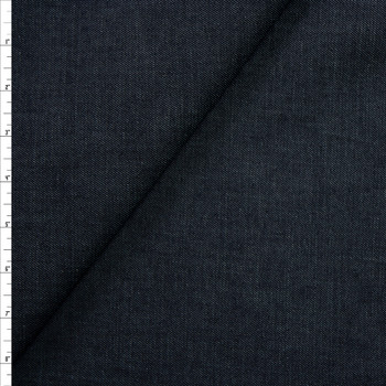 Dark Indigo Stretch Midweight Denim from 'True Religion' Fabric By The Yard