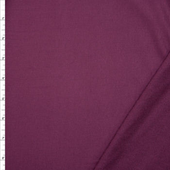 Plum Bamboo French Terry Fabric By The Yard
