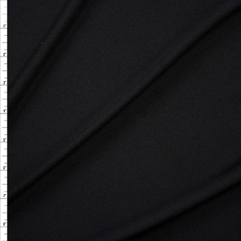 Black Poly Swimwear Lining Fabric By The Yard