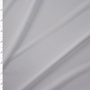 White Poly Swimwear Lining Fabric By The Yard